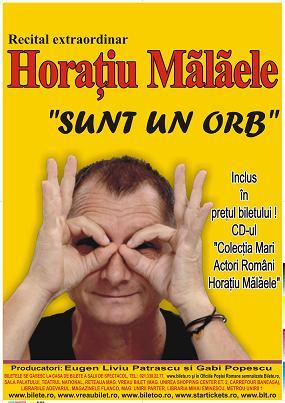 """""""Sunt un orb"""" cu Horatiu Malaele"""