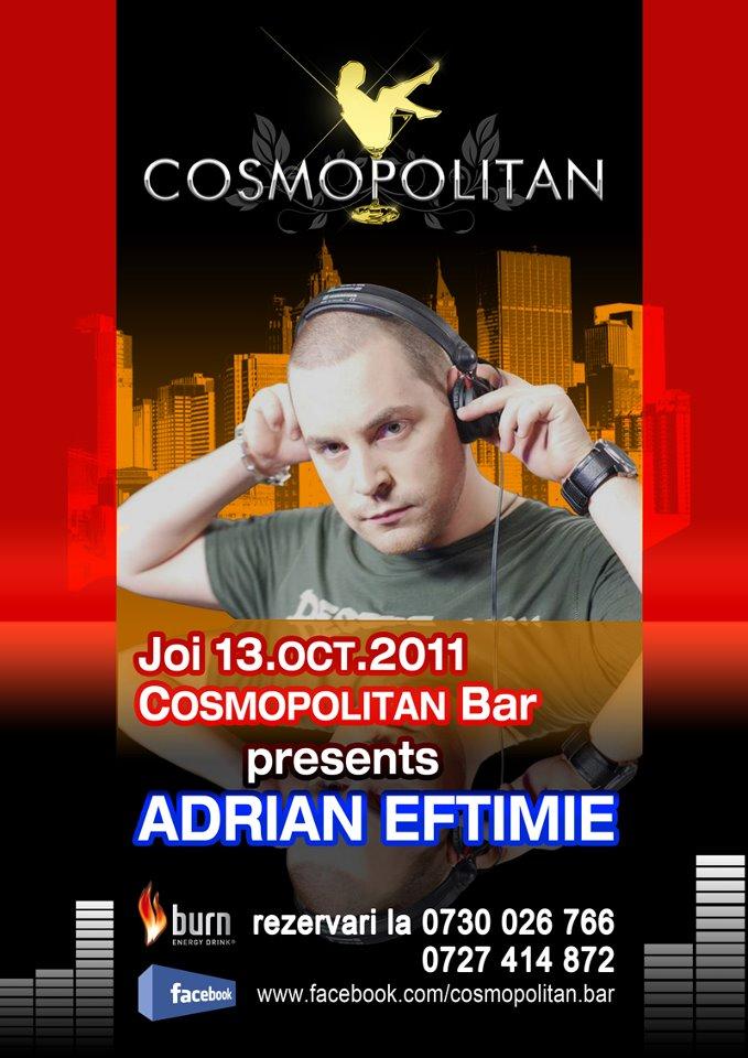 Adrian Eftimie mixeaza in Constanta