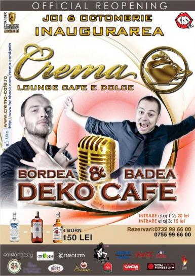 Stand-up comedy cu Bordea si Badea