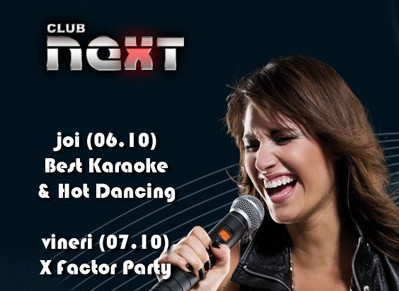 Karaoke & Dancing Party in club NEXT