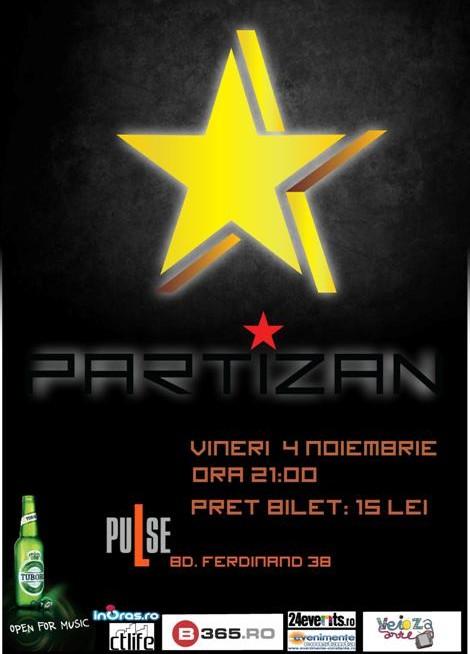 Concert PARTIZAN in Pulse