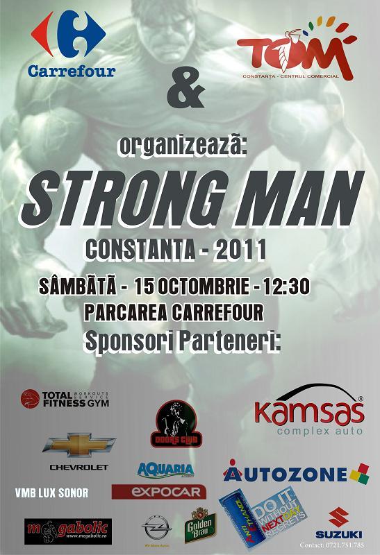 Strong Man – Constanta 2011
