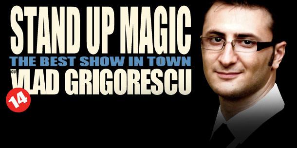 Stand-up Magic cu Vlad Grigorescu in Phoenix