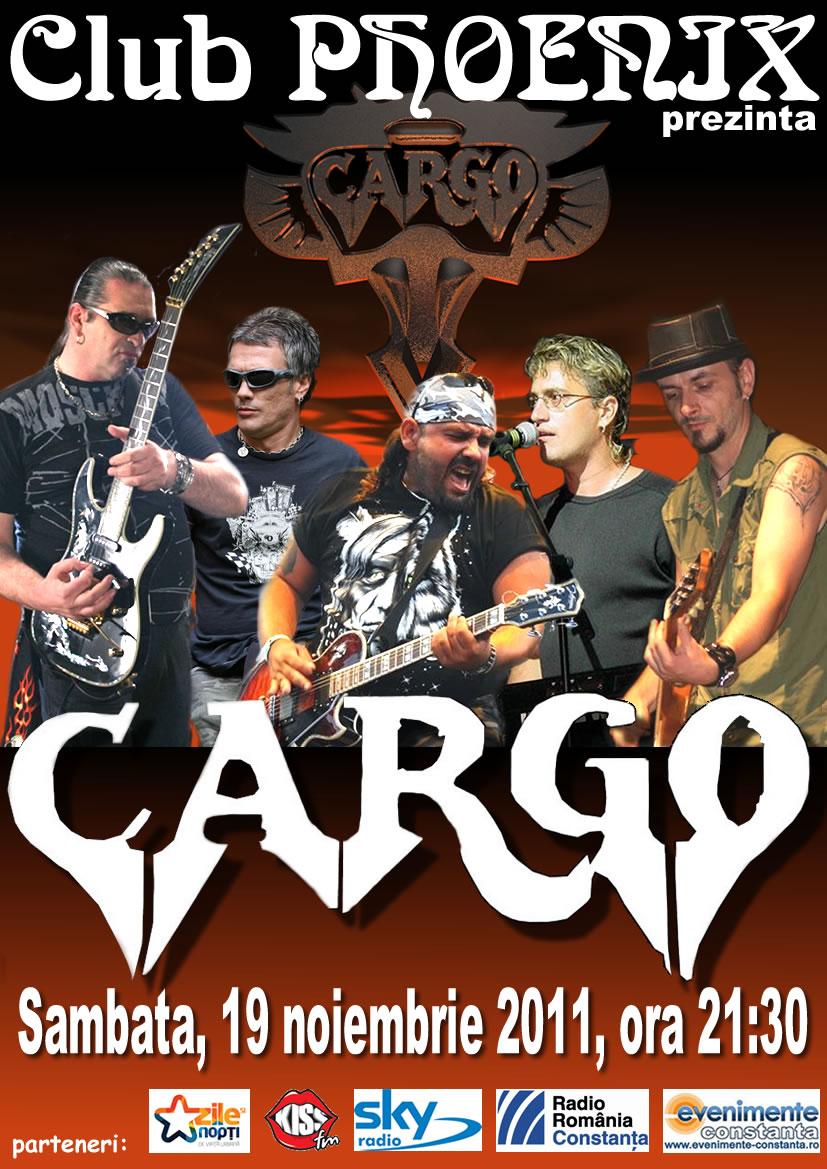Concert CARGO in club Phoenix
