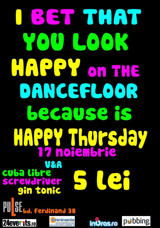 Happy Thursday Party in club Pulse