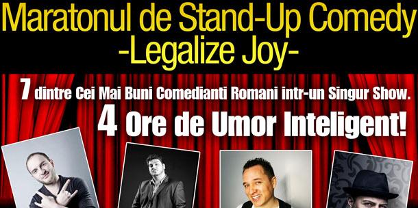 Maraton de Stand-up Comedy la Casa de Cultura
