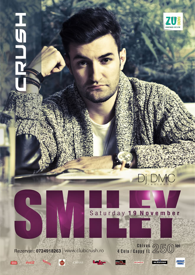 SMILEY, concert in club Crush