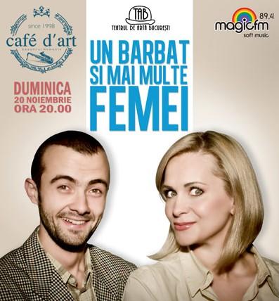 TEATRU: Comedia 'Un barbat si mai multe femei'
