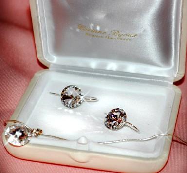 Castigatorul setului de bijuterii SWAROVSKI oferit de Corinne Bijoux