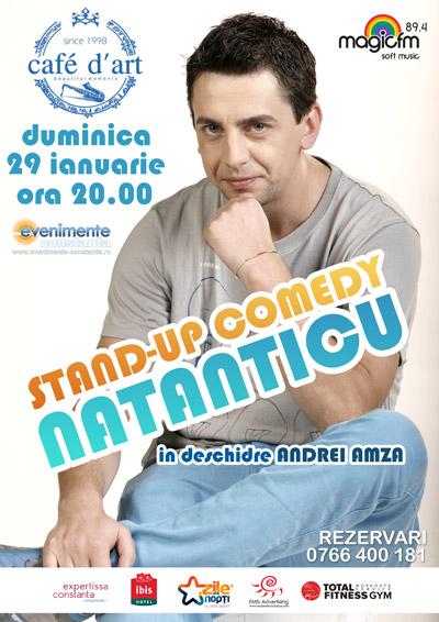 Stand-up comedy cu NATANTICU (Serviciul Roman de Comedie)