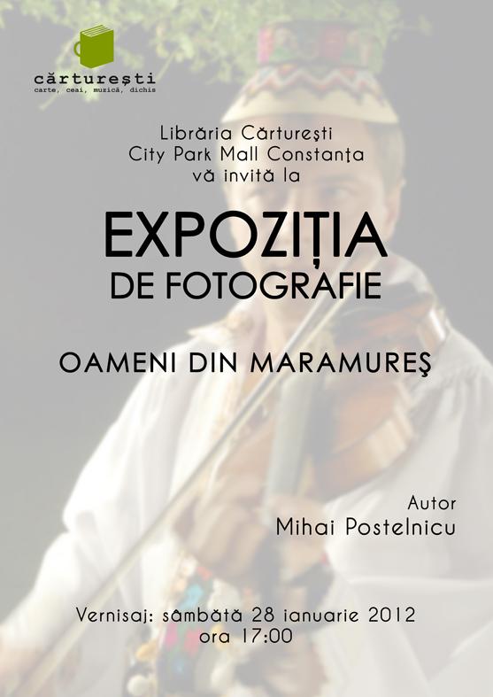 Expozitie de fotografie la Carturesti