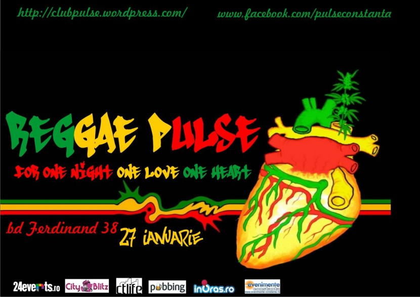 Reggae Party in Club Pulse