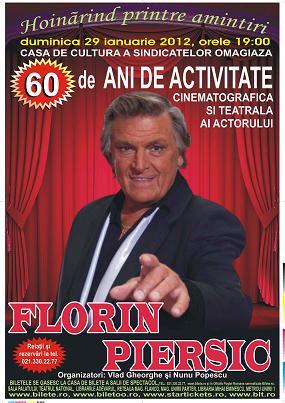 Spectacol aniversar cu FLORIN PIERSIC