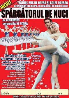 Balet SPARGATORUL DE NUCI, la Casa de Cultura