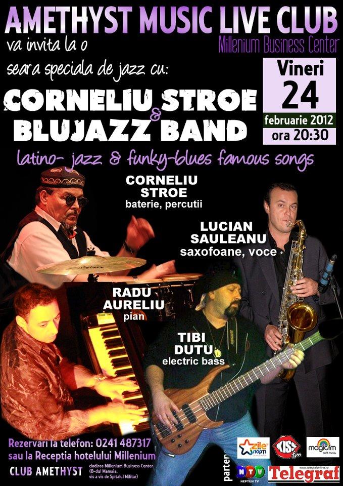 CONCERT: Corneliu Stroe & Blujazz Band