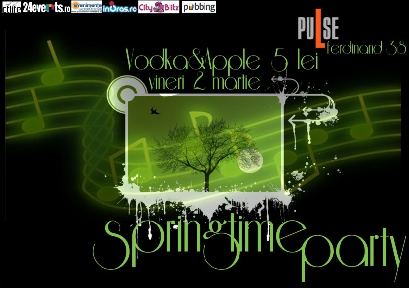 Spring Time Party in PuLse