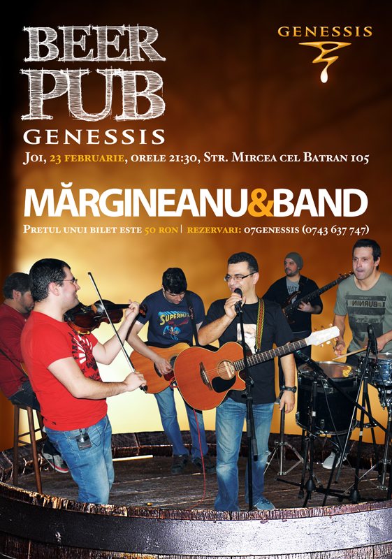 Margineanu & Band in Genessis Beer Pub