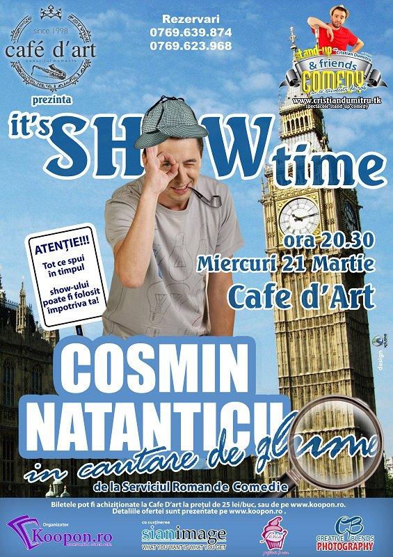 Stand-up comedy cu Natanticu