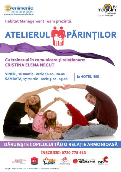 ATELIERUL PARINTILOR – relatia parinte-copil