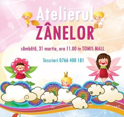 ATELIERUL ZÂNELOR, eveniment pentru copii si parinti organizat de JCI Constanta