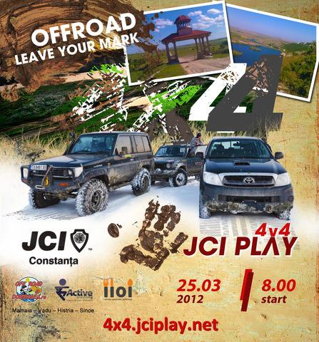 JCI PLAY 4×4 eveniment offroad si caritabil