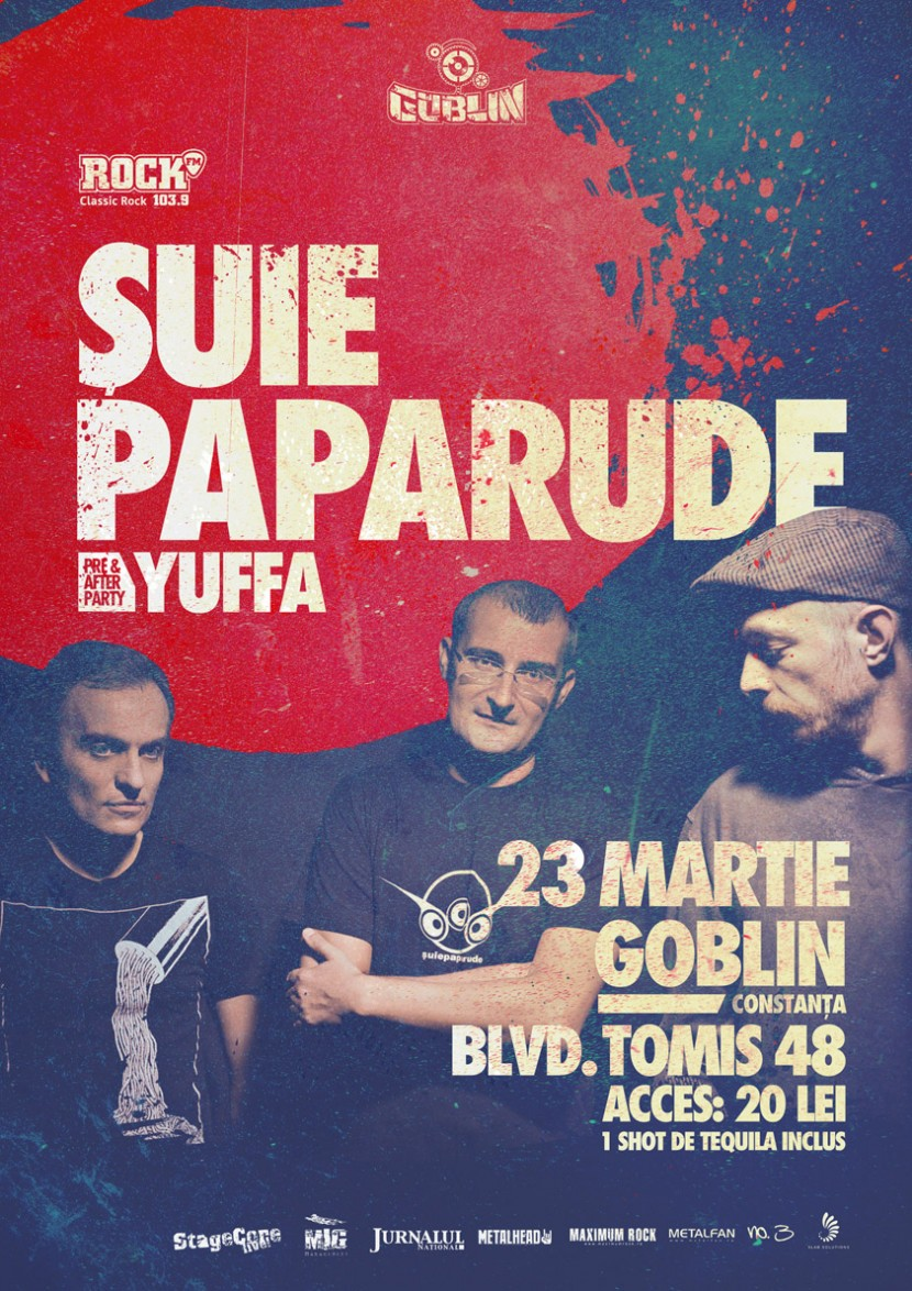 Concert SUIE PAPARUDE!