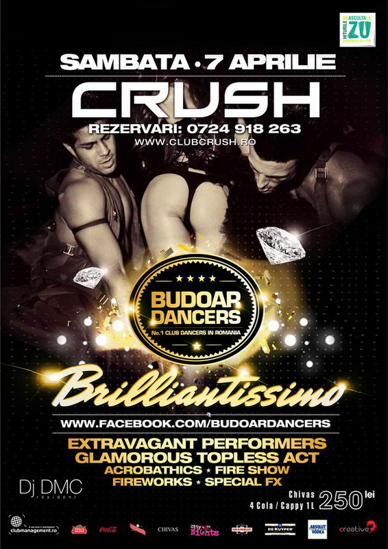 Budoar Dancers in Crush