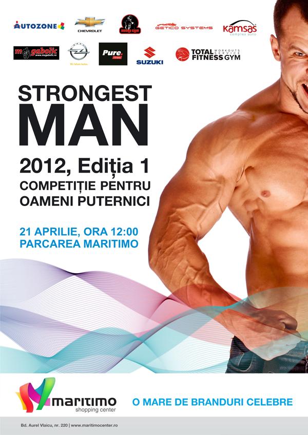STRONGEST MAN 2012, in parcarea Maritimo
