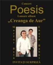 """Grupul POESIS – Concert de lansare al noului album """"Creanga de aur"""""""