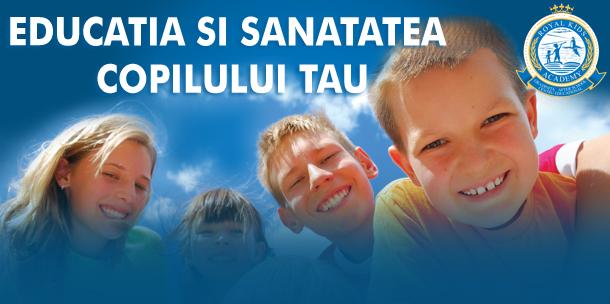 Conferinta: Educatia si sanatatea copilului tau