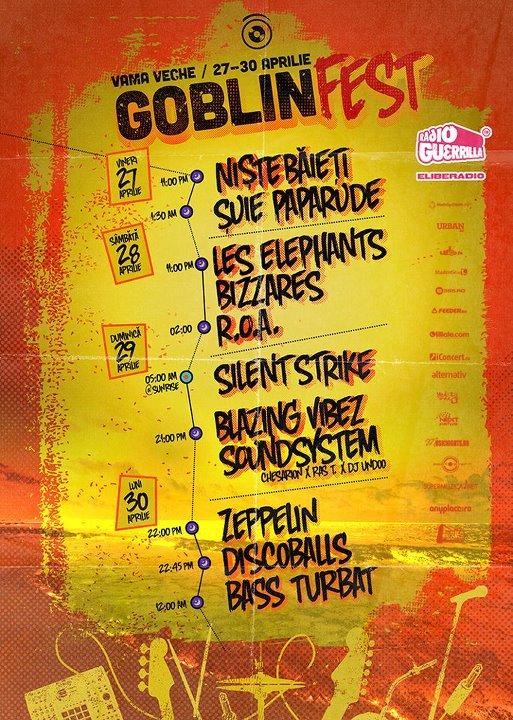 Weekend cu ROA si Suie Paparude la Goblin Fest in Vama