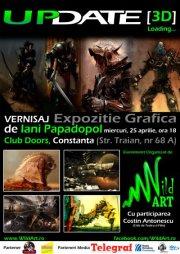 Expozitie de arta digitala, UPDATE 3D, la Doors