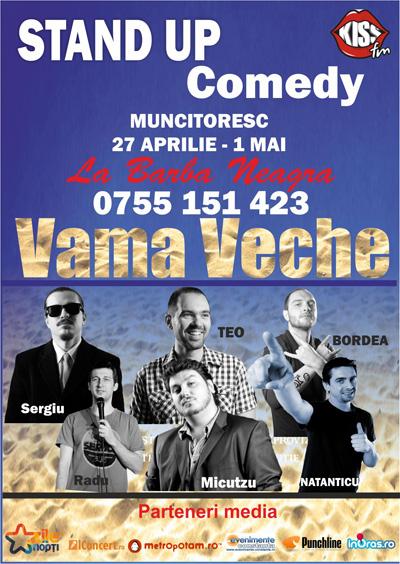 Stand-up Comedy Muncitoresc in Vama Veche