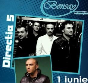 Concert DIRECTIA 5 si GUESS WHO de 1 IUNIE