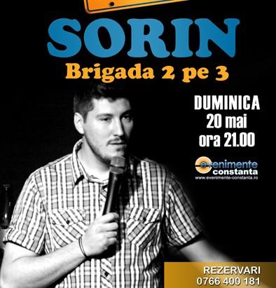 Stand-up comedy cu SORIN, in Fifteen Pub pe 20 mai