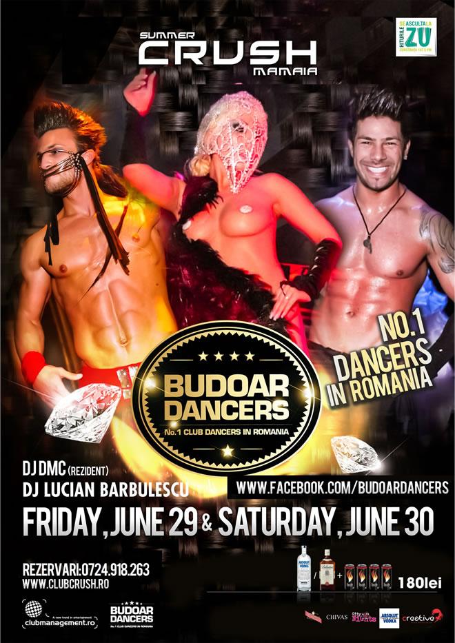 Sexy show cu Budoar Dancers in Mamaia