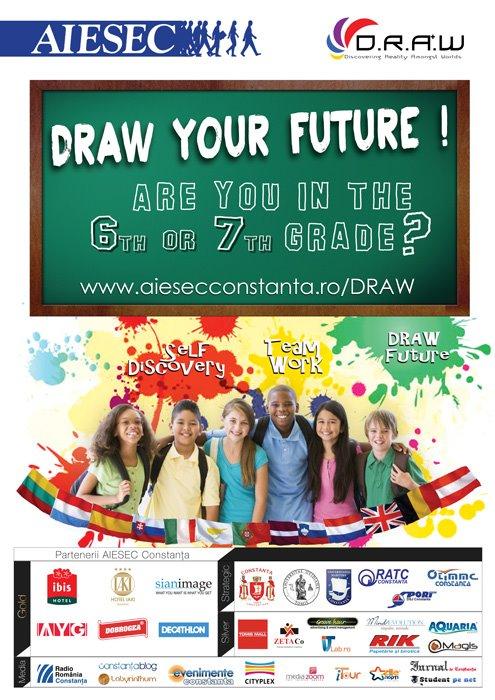 DRAW, proiectul pentru copiii de 11-15 ani la a II-a editie!