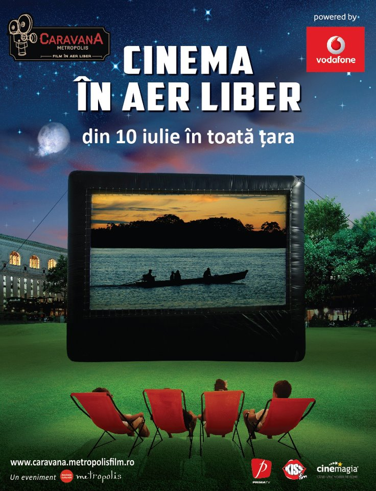 Cinema in aer liber in Mamaia
