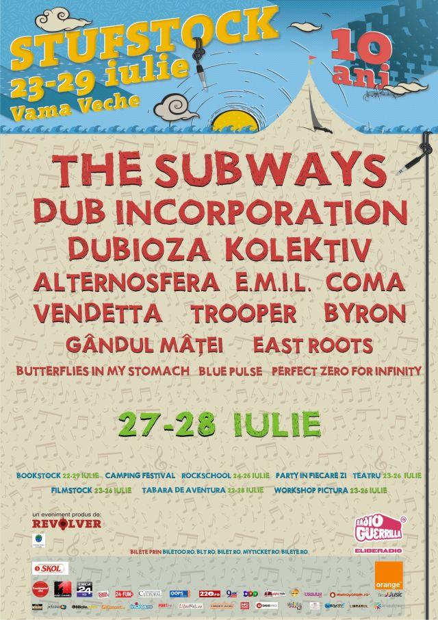 Stufstock 2012, editia a 10-a la Vama Veche
