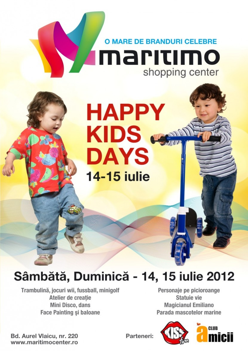 Happy Kids Days la Maritimo