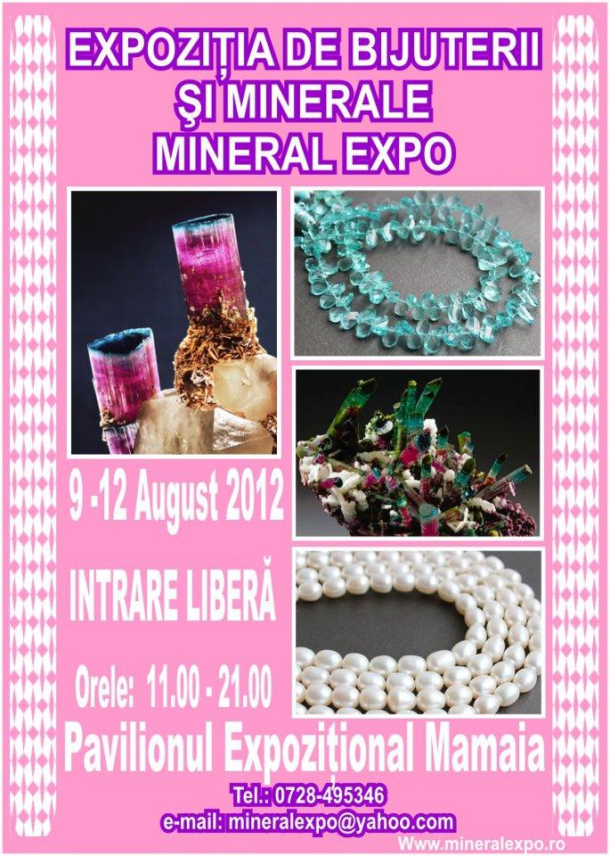 Expozitia de bijuterii si minerale MINERAL EXPO
