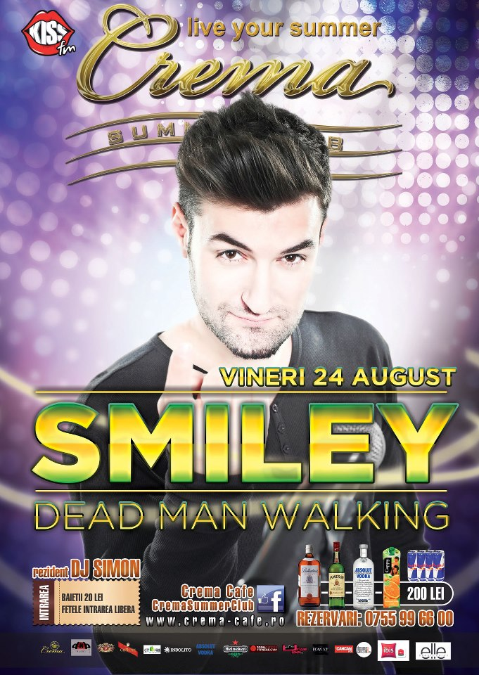 Concert SMILEY in Mamaia