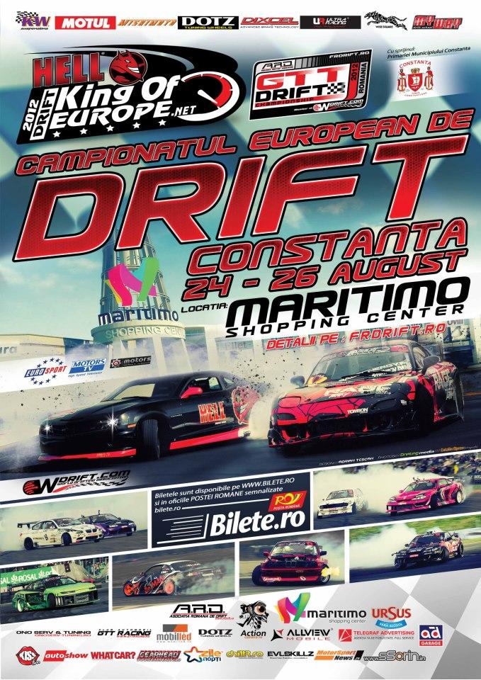 Campionatul European de Drift King of Europe la MARITIMO