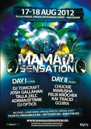 Festivalul de muzica electronica Mamaia Sensation