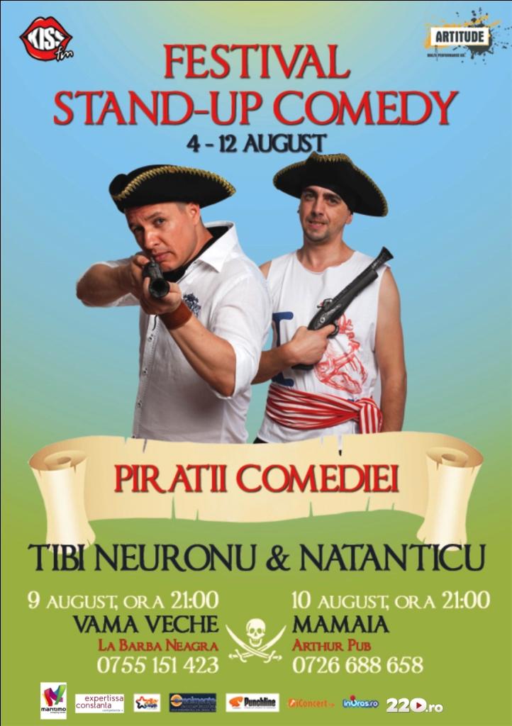 NEURONU si NATANTICU la Festivalul de Stand-up Comedy in Arthur Pub Mamaia