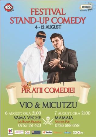 Stand-up comedy cu VIO si MICUTZU la Arthur Pub Mamaia