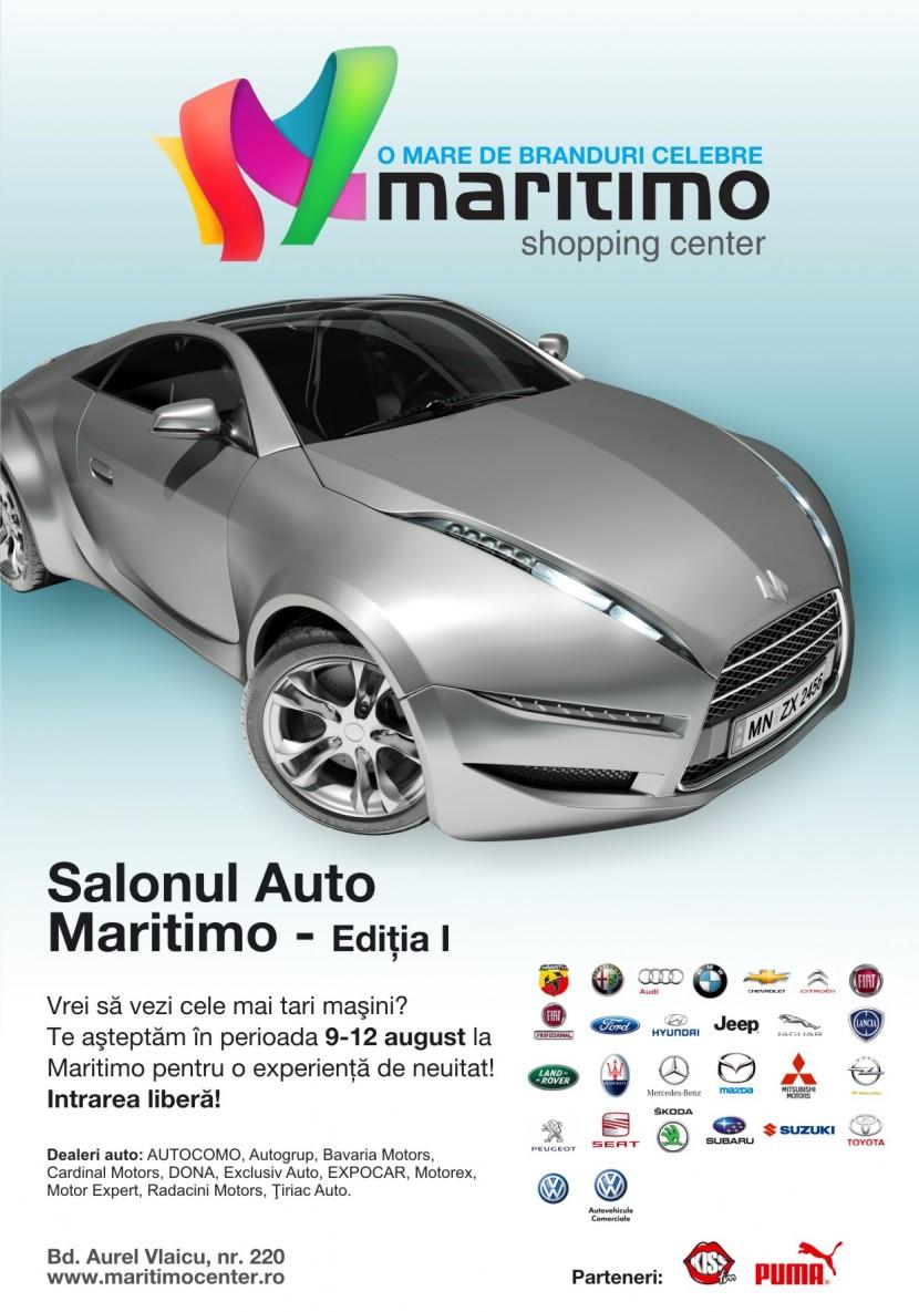 Vino sa vezi cele mai tari masini la Salonul Auto Maritimo