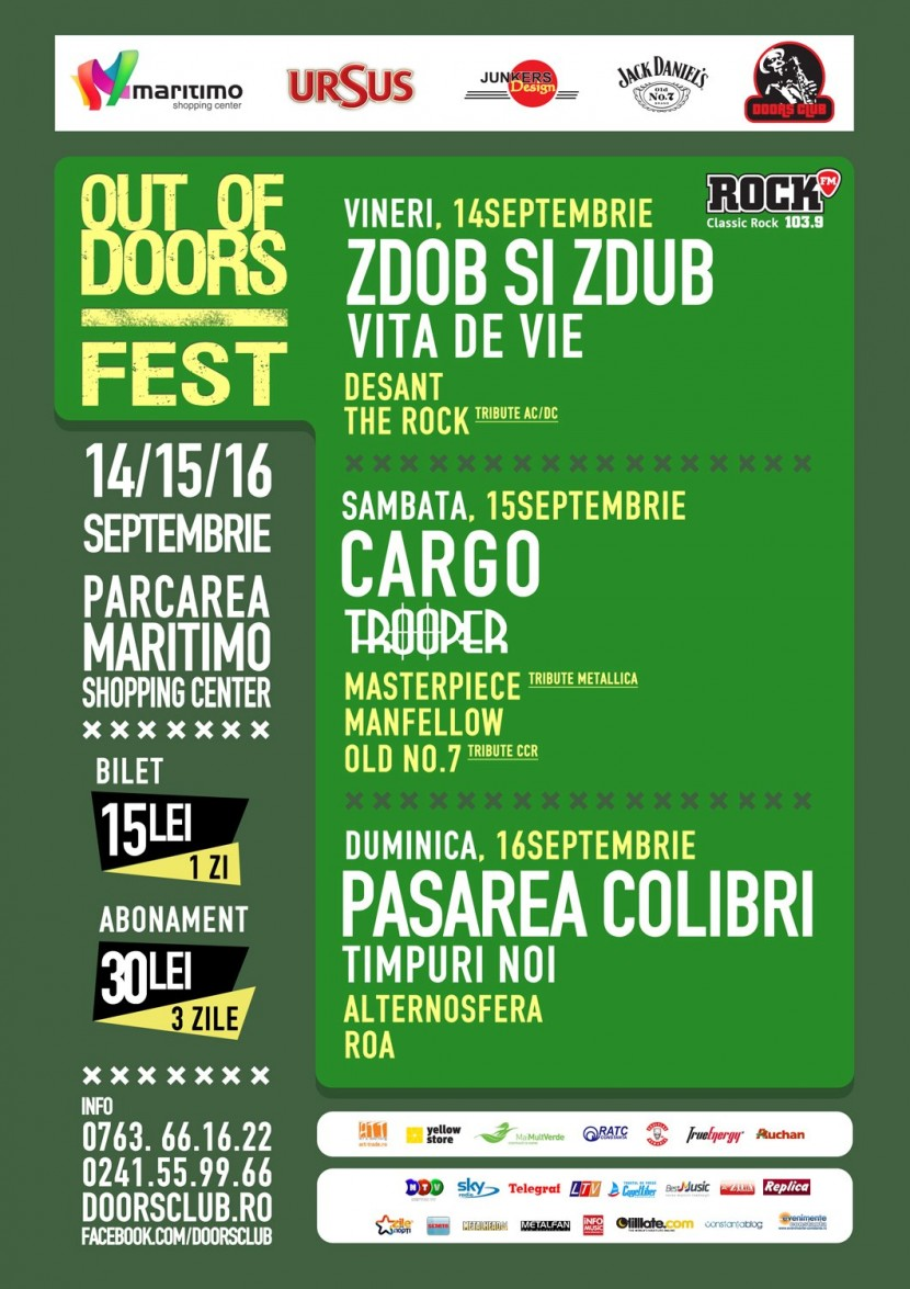 Out Of Doors Fest la Maritimo