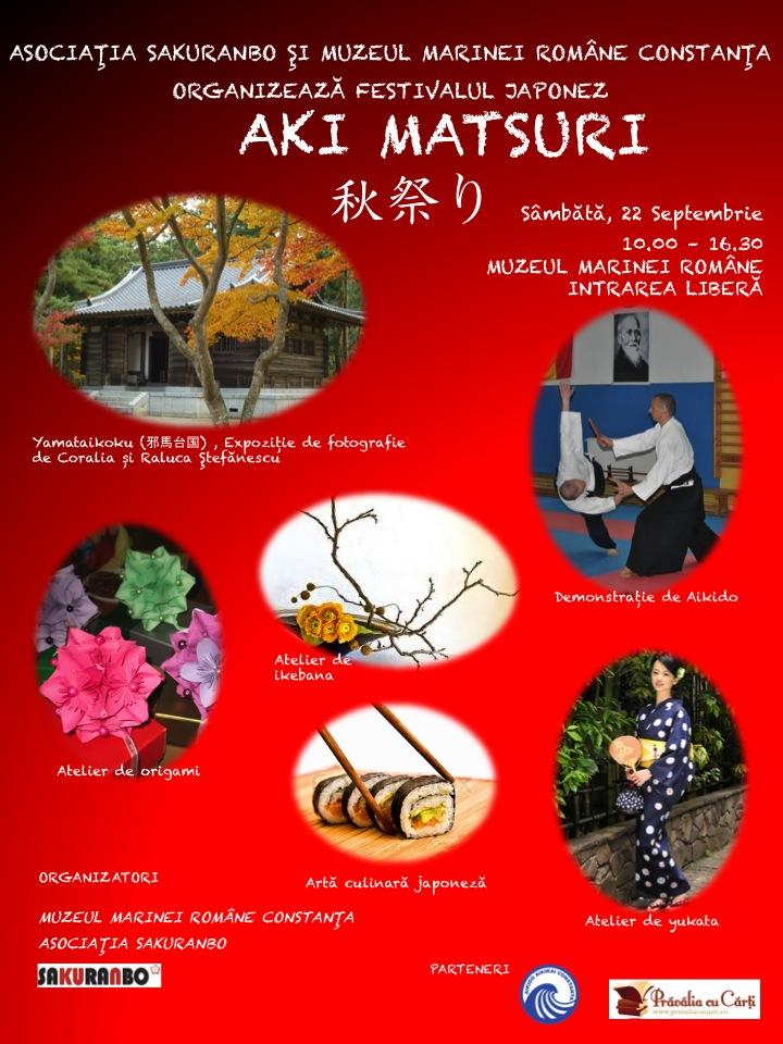 Festivalul Japonez Aki Matsuri  la Muzeul Marinei