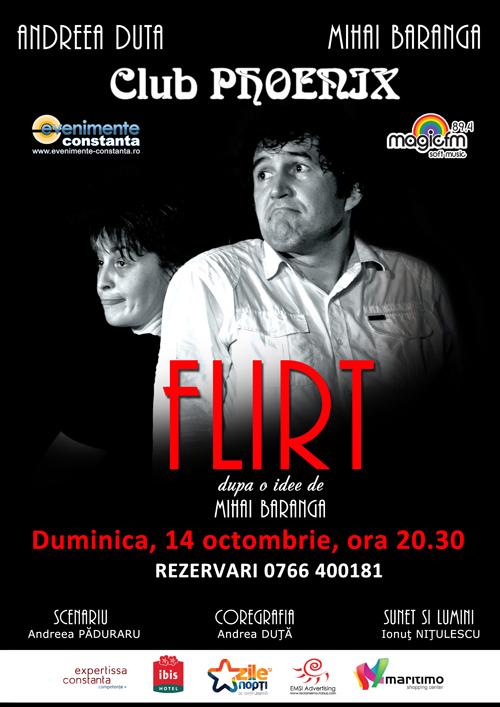 CONCURS: Castiga o invitatie DUBLA la spectacolul FLIRT